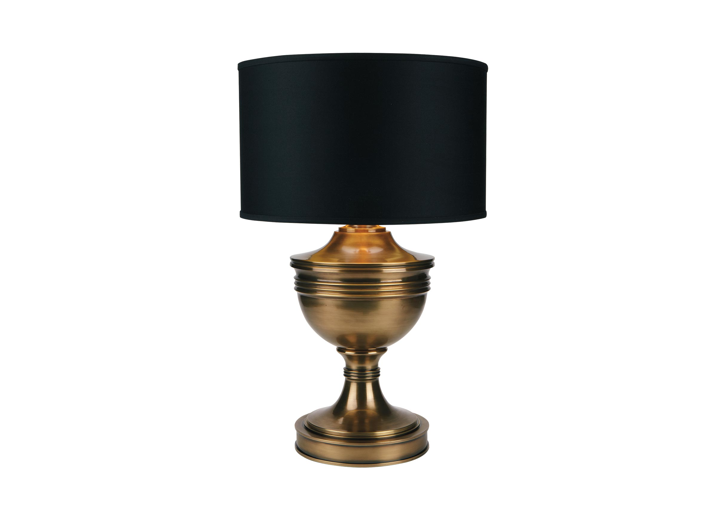 Otis Large Brass Table Lamp Table Lamps Ethan Allen