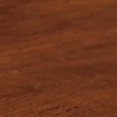Sparrow (356): Warm brown stain with open-grain texture, glazed, moderately distressed, rasped edges.