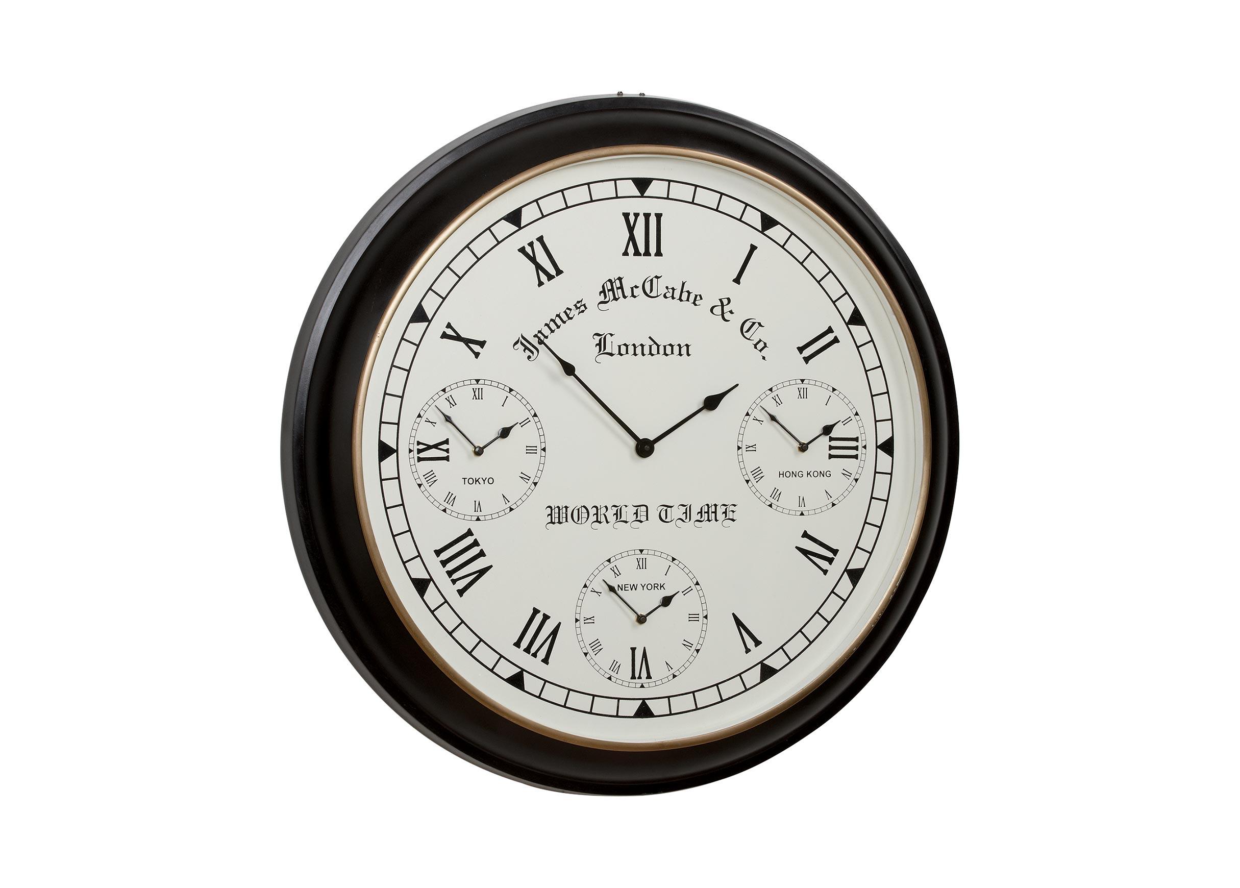 World Timer Wall Clock Clocks