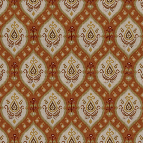 Adia Apricot Fabric by the Yard ,  , large