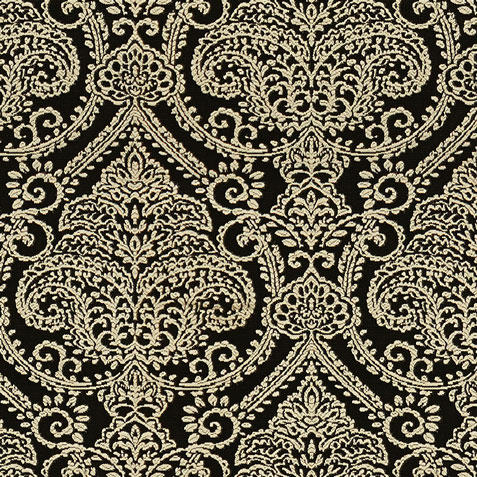 Lexi Black Fabric by the Yard ,  , large