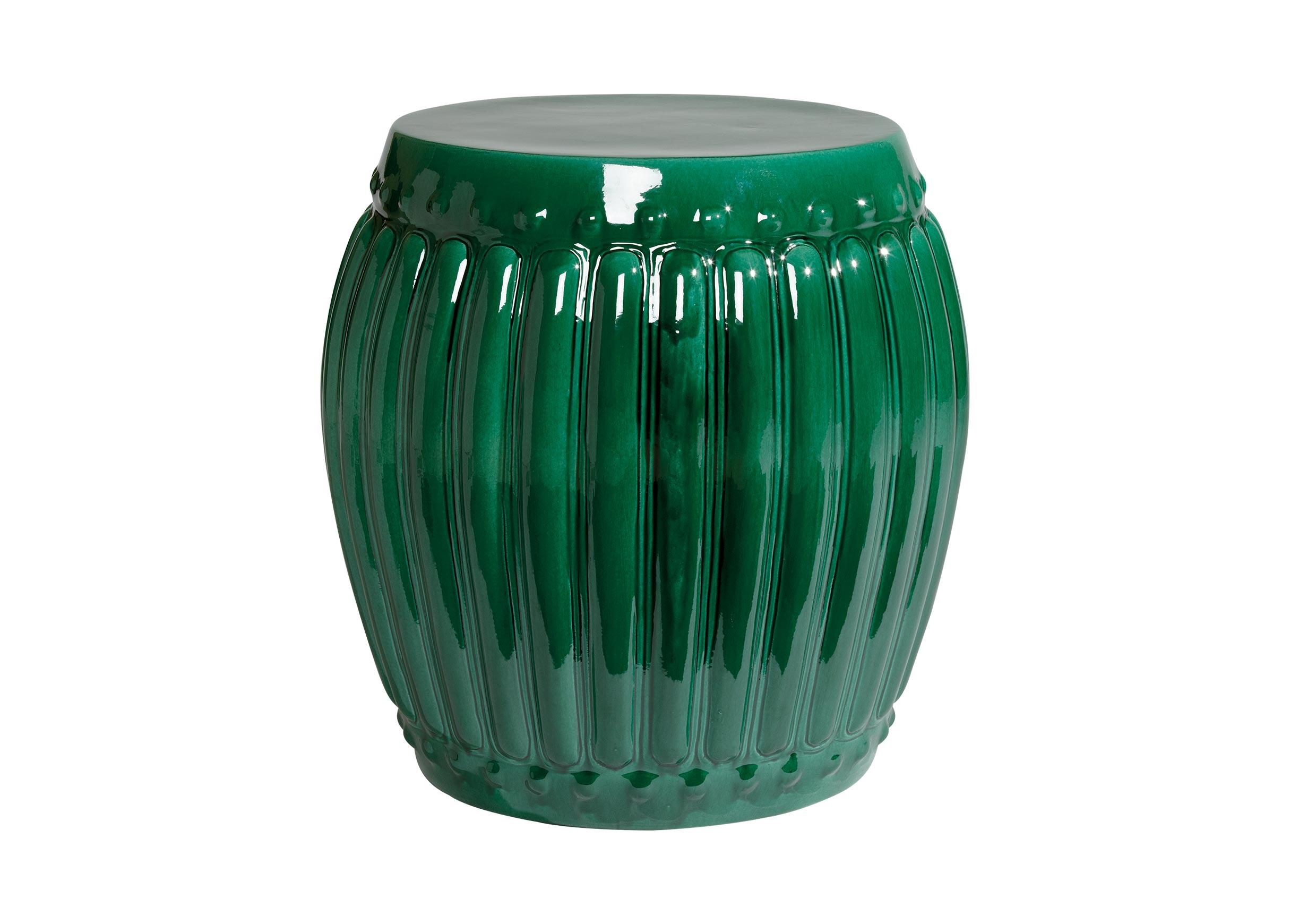 Emerald Drum Table