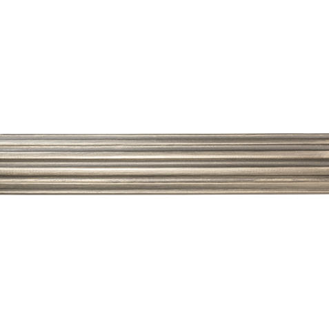 "2 1/4"" Fluted Wood Pole, Platinum ,  , large"