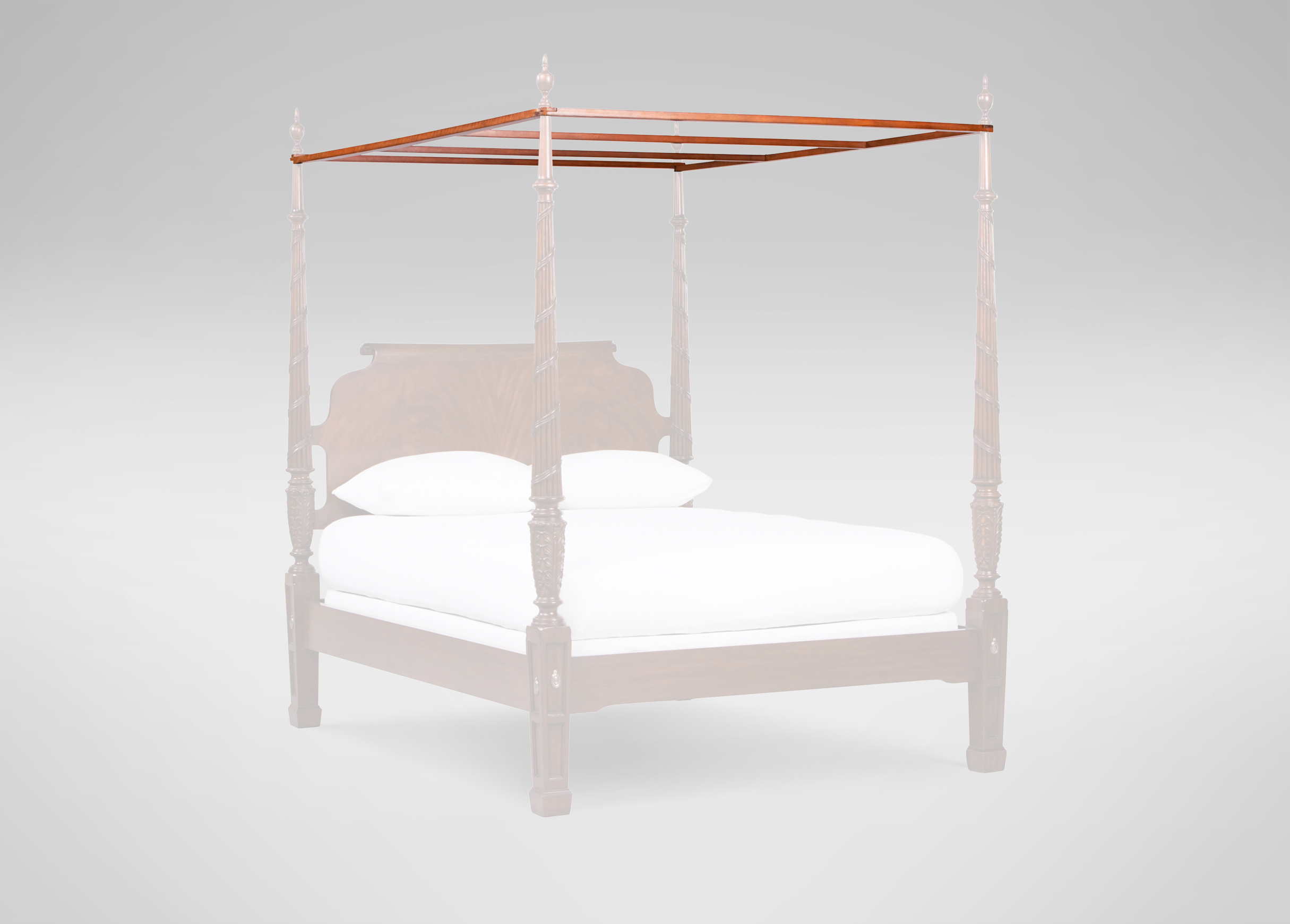 Amazoncom girls canopy bed frame