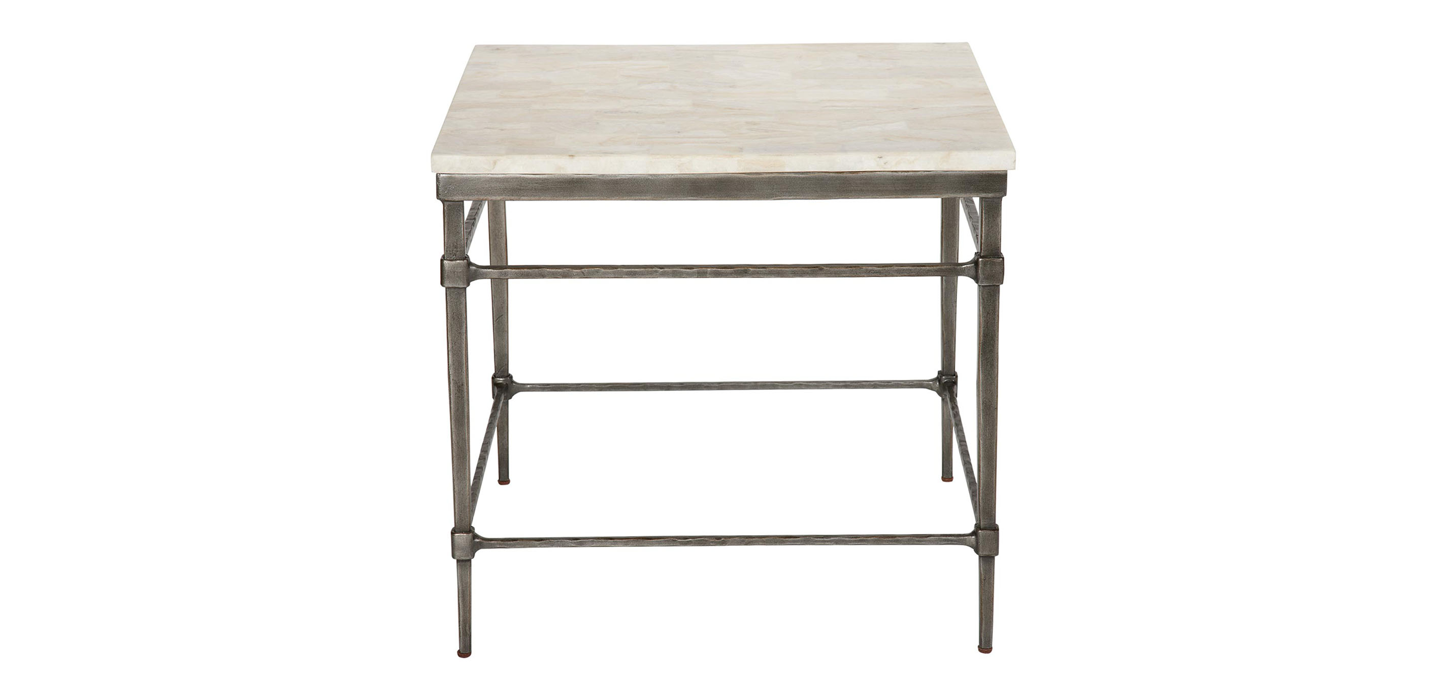 High Quality Images Vida Stone Top End Table , , Large_gray