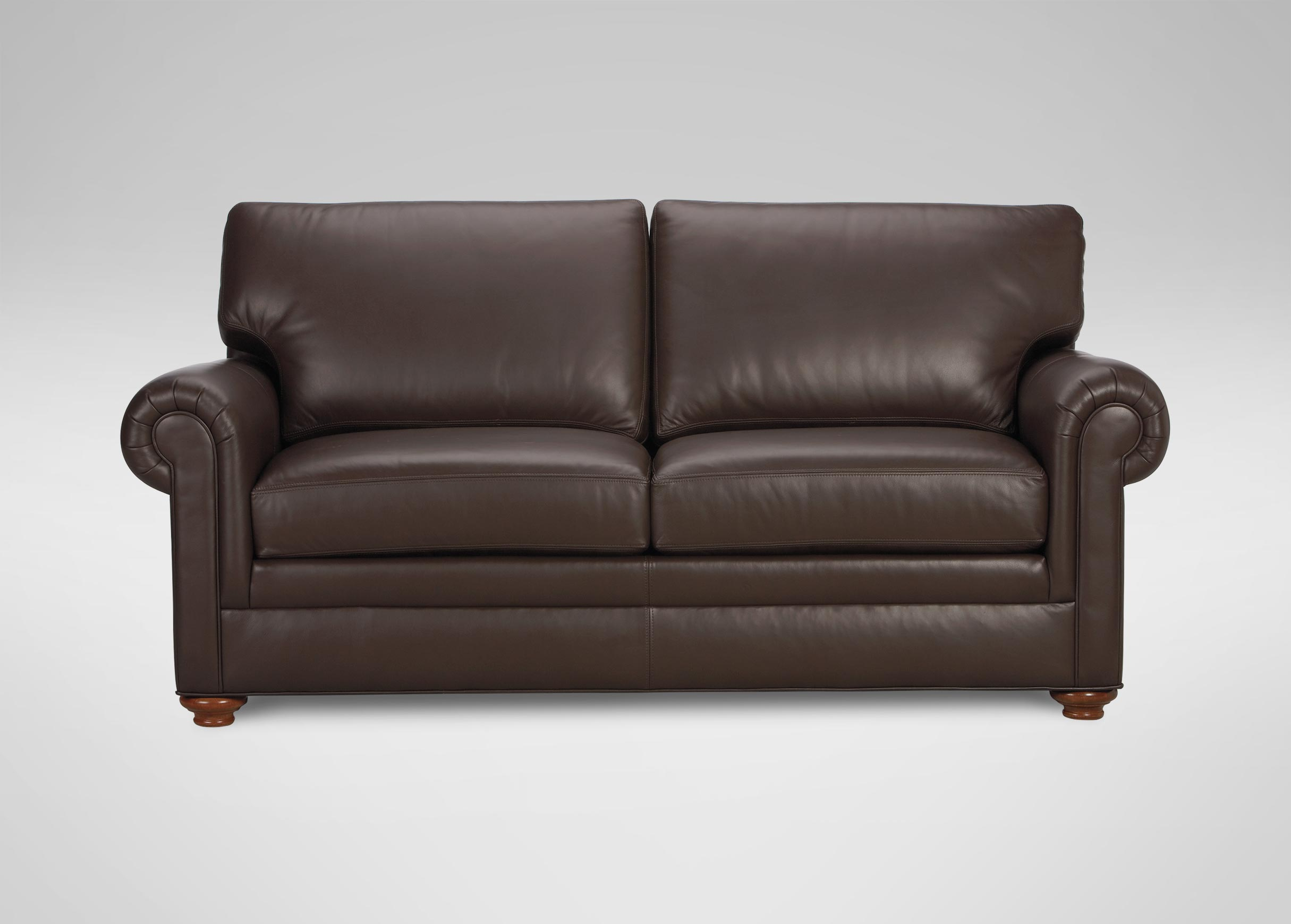 Conor leather sofa sofas loveseats for Couch and loveseat