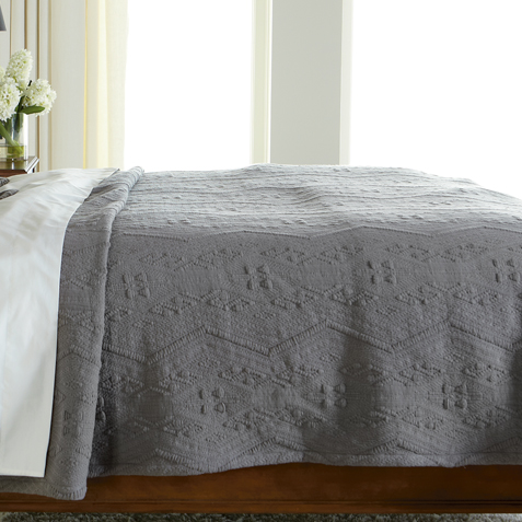 Declan Full/Queen Textured Coverlet ,  , large