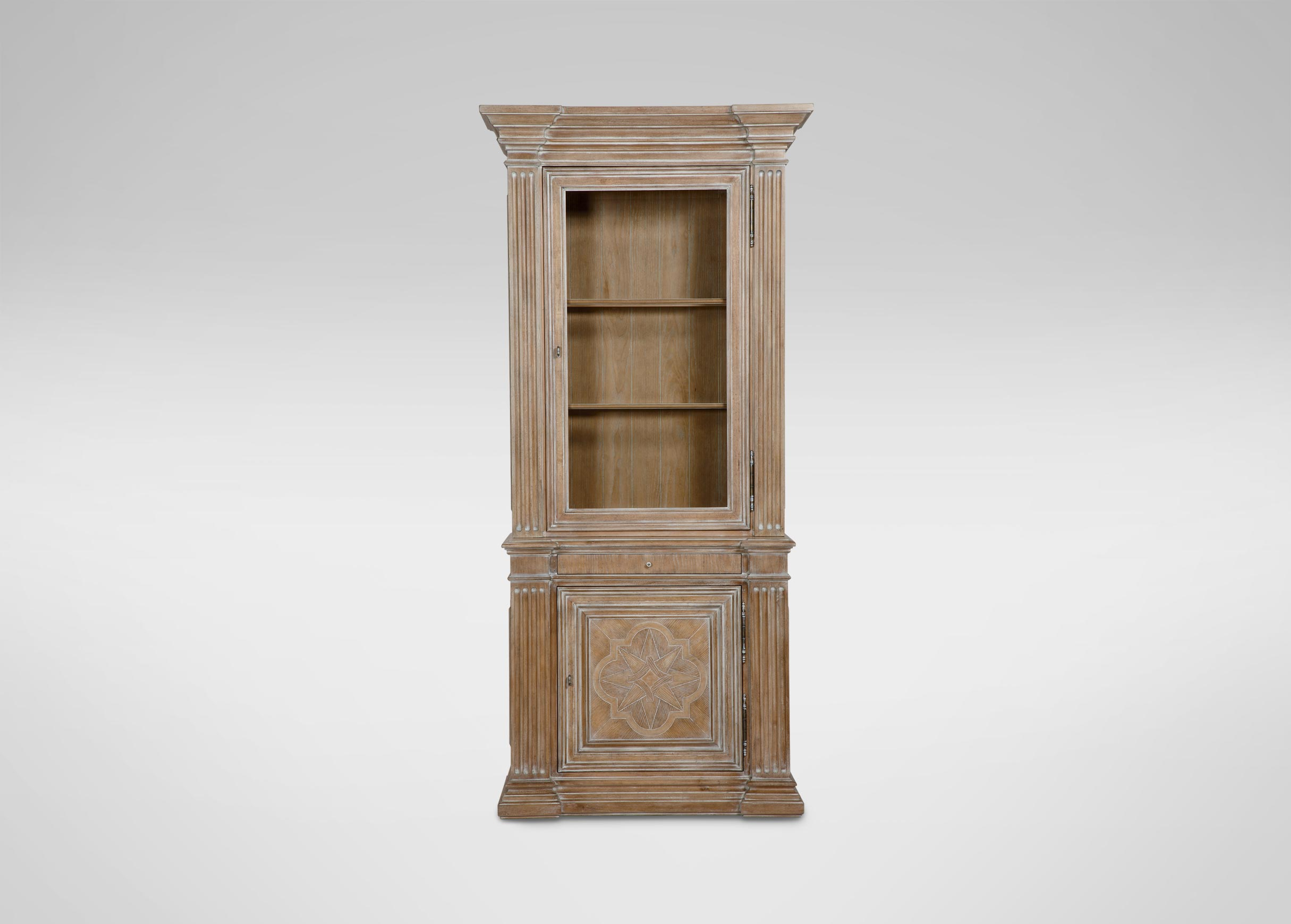 Images Lombardy Single Cabinet Large Gray