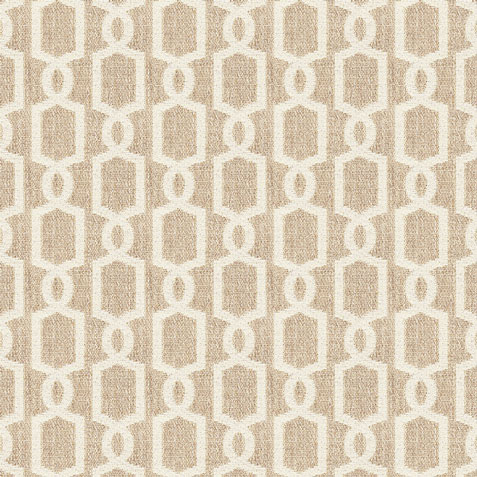 Mod Oatmeal Fabric by the Yard ,  , large