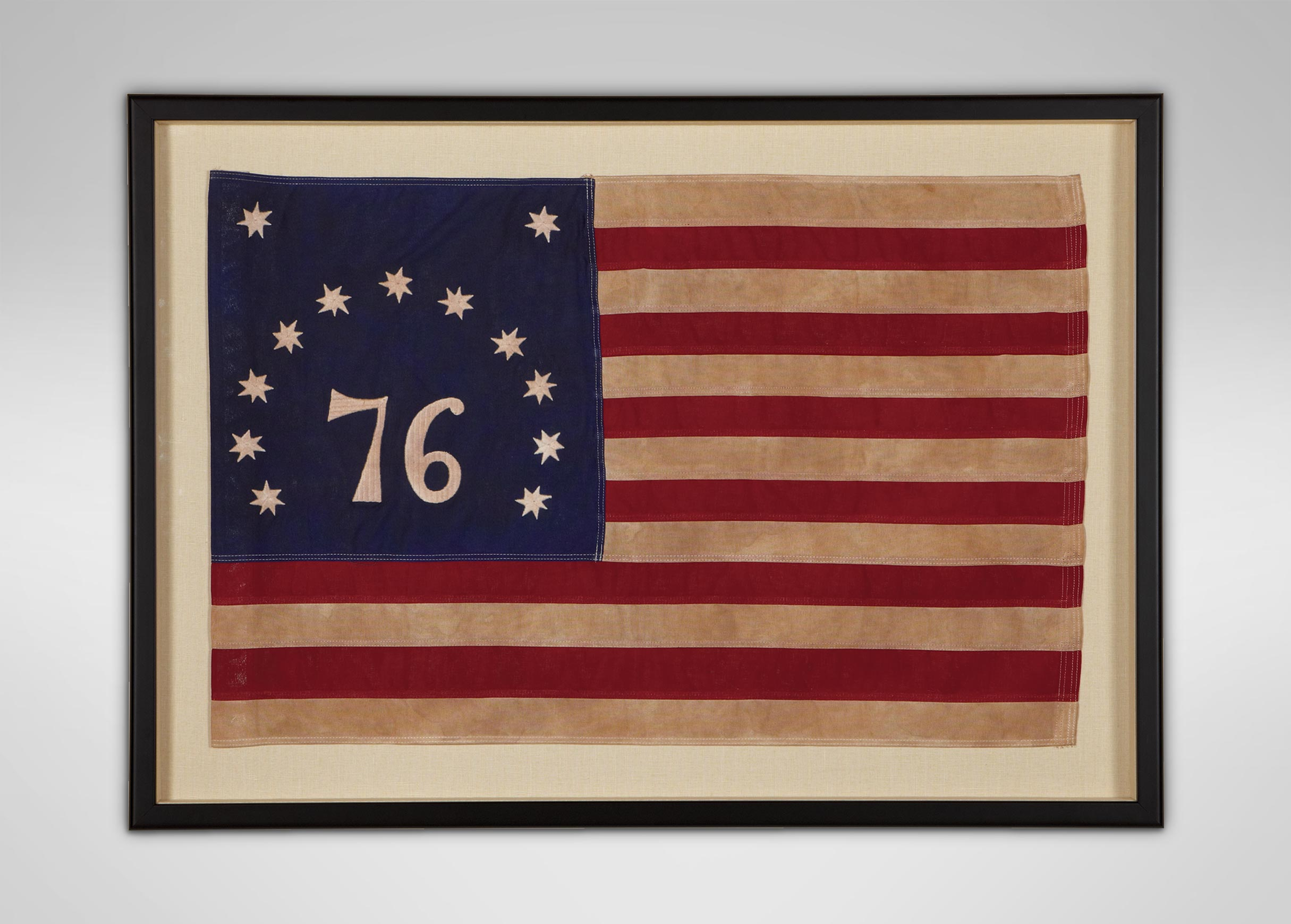 Vintage Bennington Flag Flags