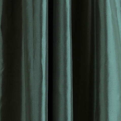 Teal Satin Dupioni Fabric by the Yard ,  , large