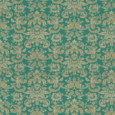 Kira Turquoise Fabric by the Yard ,  , large