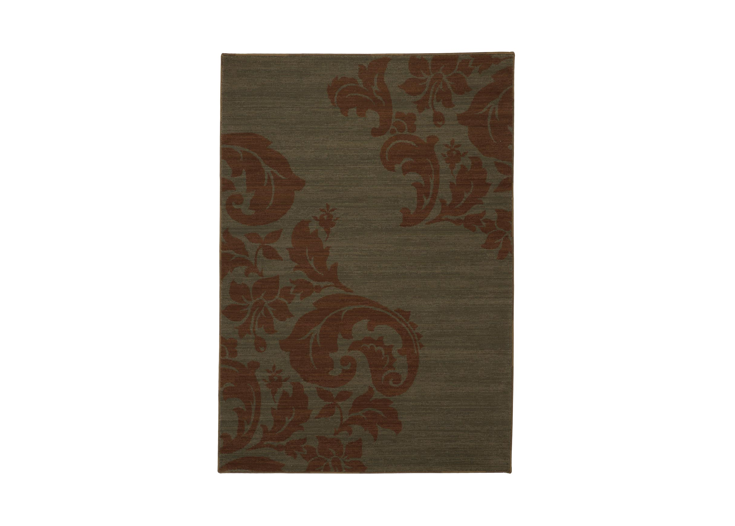 Corner batik area rug damask floral rugs for Best area rug websites