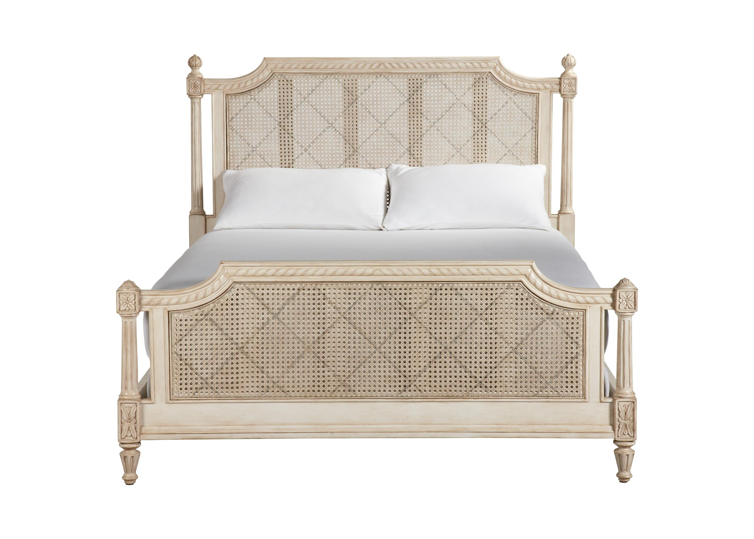 Ethan Allen Country French King Bed