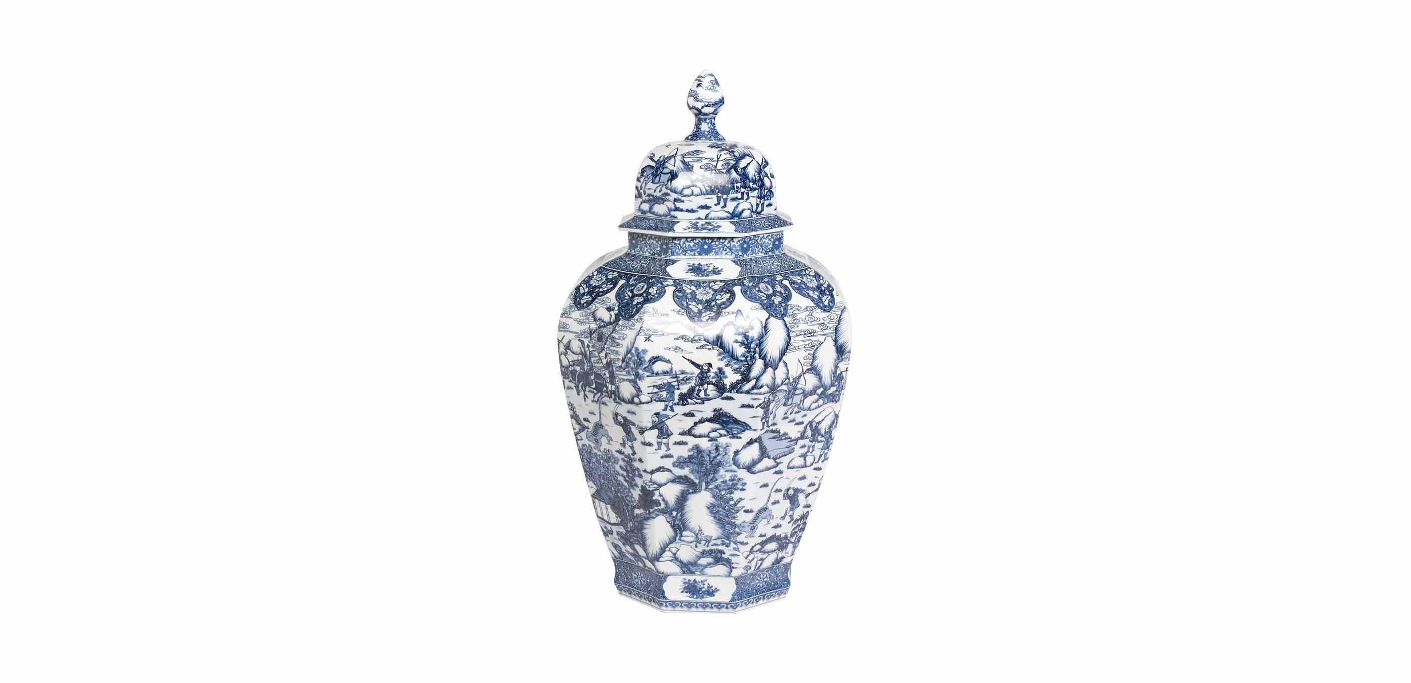 extra large blue and white ginger jar bottles jars. Black Bedroom Furniture Sets. Home Design Ideas