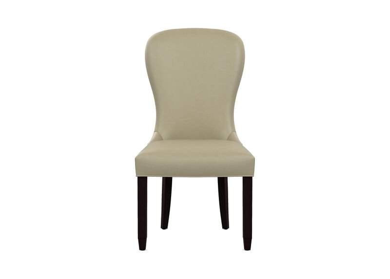 Penelope Leather Dining Side Chair ,  , large_gray