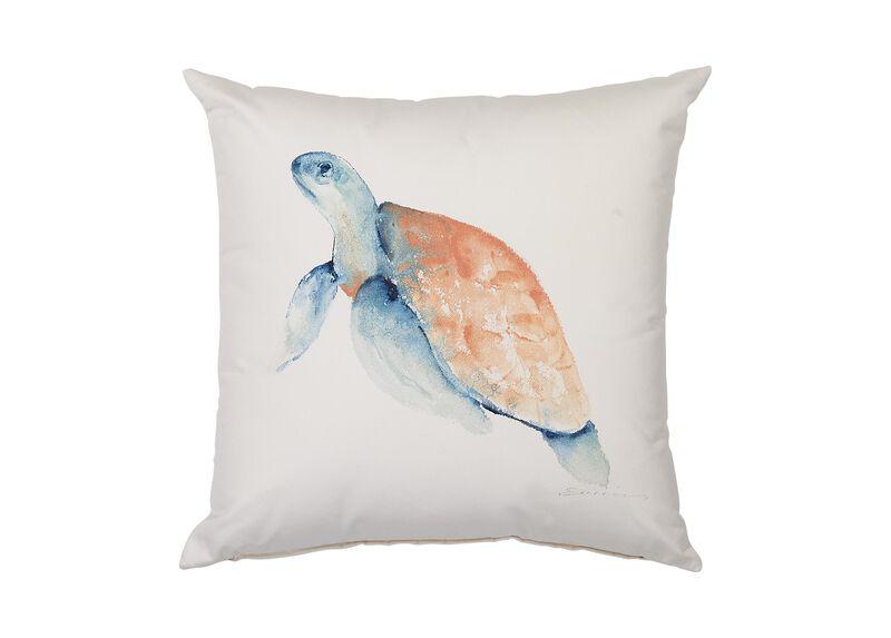 Sea Turtle Outdoor Pillow
