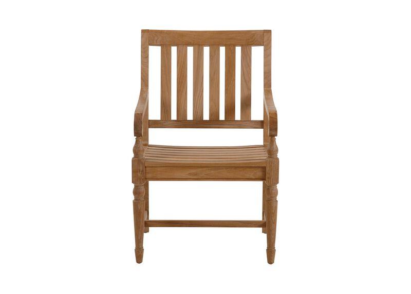 Millbrook Wood-Seat Armchair