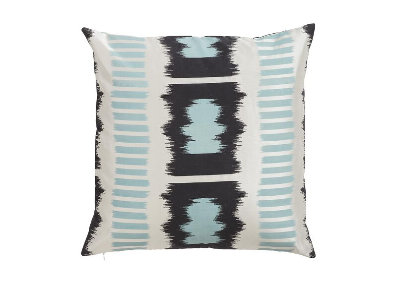 Printed Silk Ladder Pillow