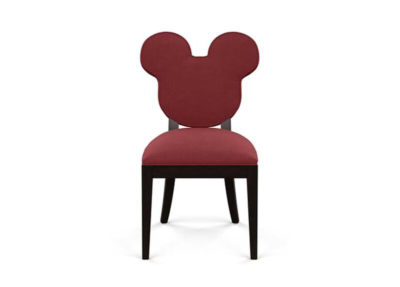 Mickey Mouse Everywhere Chair , Lucky Denim Red (D1200) , large_gray