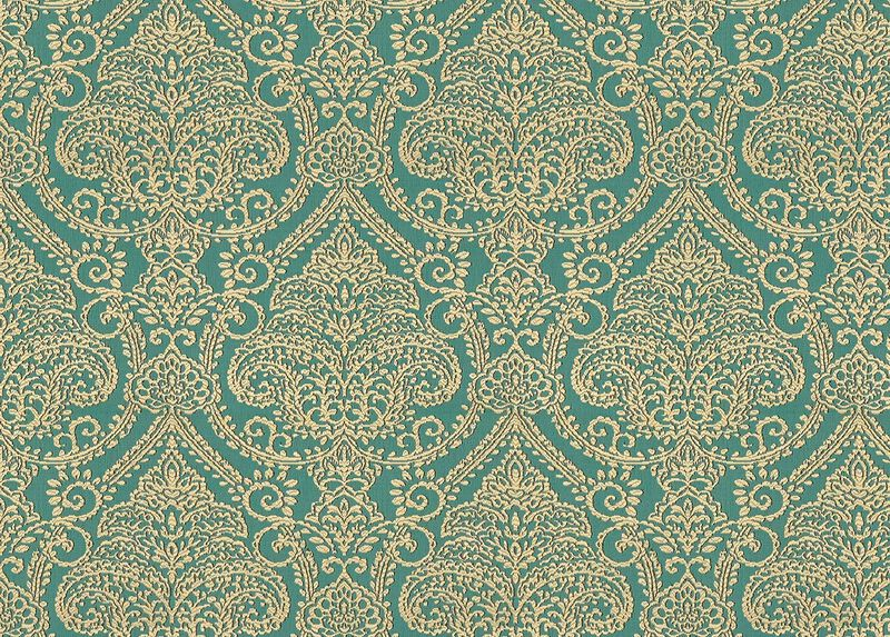 Lexi Turquoise Fabric by the Yard