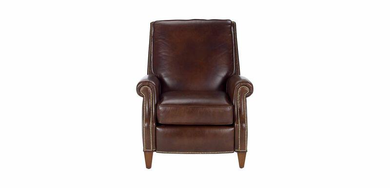 Colburn Leather Recliner, Omni/Brown