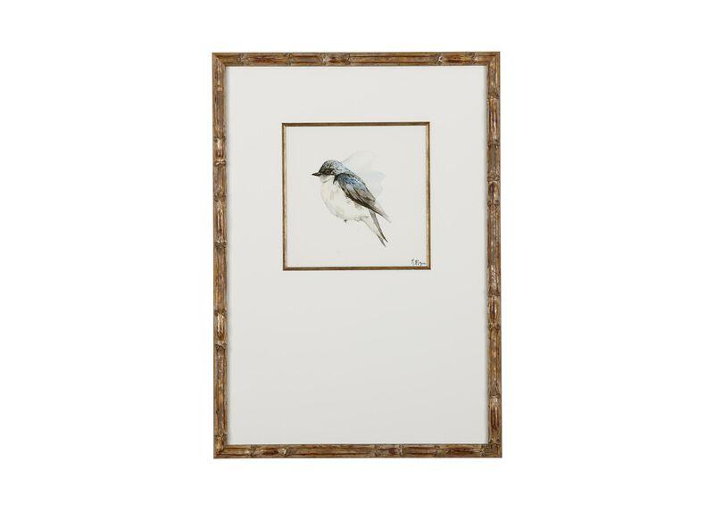 Watercolor Bird IV