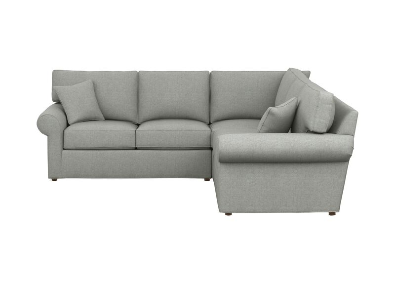 Retreat Roll-Arm Three-Piece Sectional