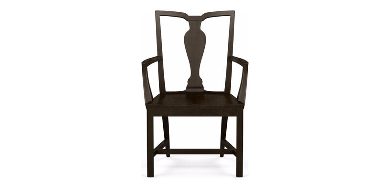 Maddox Wood-Seat Armchair