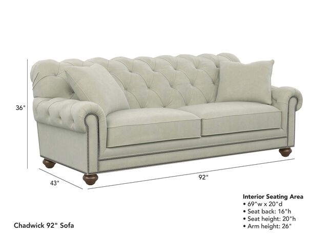 Amazing Chadwick Sofa Sofas Loveseats Ethan Allen Onthecornerstone Fun Painted Chair Ideas Images Onthecornerstoneorg