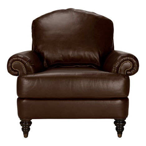 Hyde Leather Chair, Quick Ship ,  , large