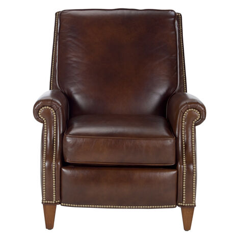 Colburn Leather Recliner, Omni/Brown ,  , large