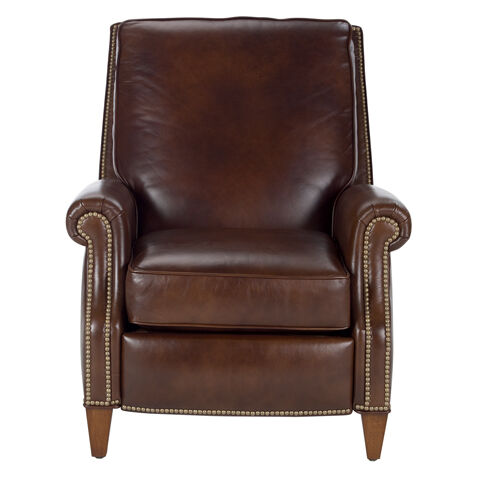Colburn Leather Recliner Omni/Brown   large  sc 1 st  Ethan Allen : cheap leather recliner chairs - islam-shia.org