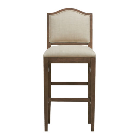Hayden Barstool, Arched Top and Tapered Leg ,  , large