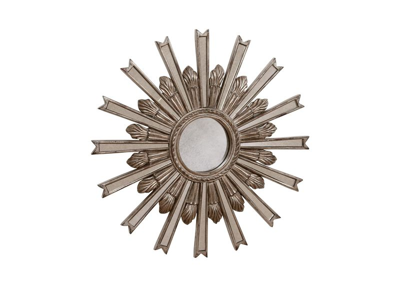 "20"" Silver Starburst Mirror ,  , large_gray"