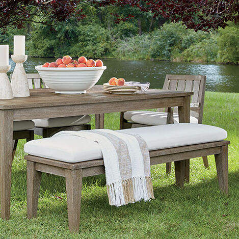 Bridgewater Cove Teak Dining Bench Product Tile Hover Image 404090