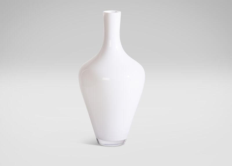 Medium Milk Glass Vase ,  , large_gray