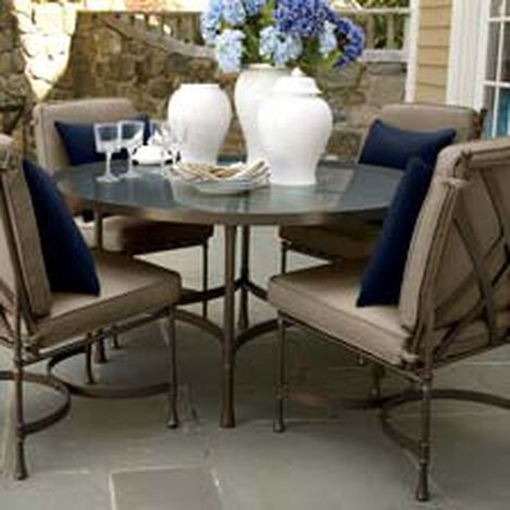 Biscayne Round Dining Table ,  , hover_image