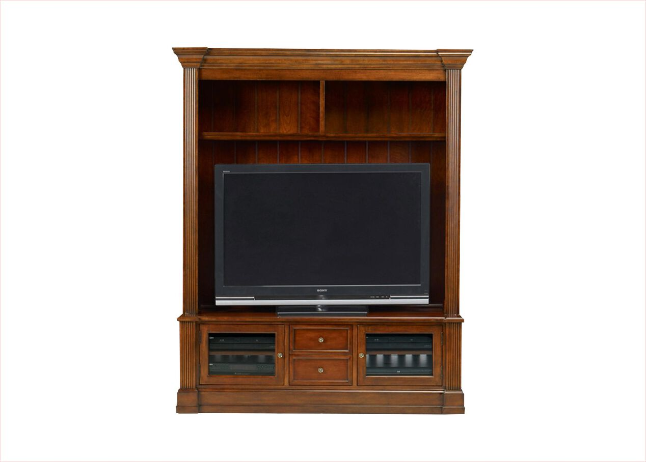 traveller 2 piece media center media cabinets ethan allen. Black Bedroom Furniture Sets. Home Design Ideas