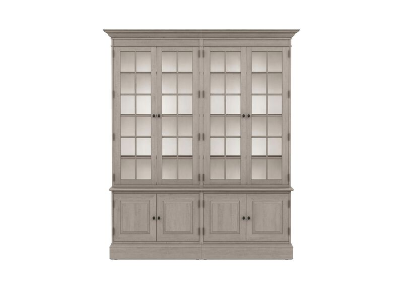 Villa Double Library Bookcase
