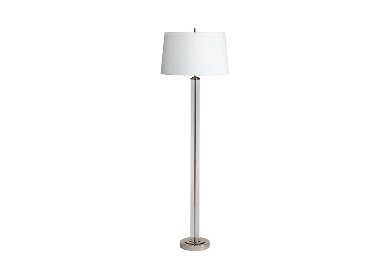 Glass Cylinder Floor Lamp ,  , large_gray