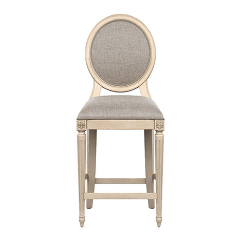 Marcella Oval Back Counter Stool Product Tile Image 132089