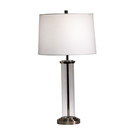 Glass Cylinder Accent Lamp ,  , large