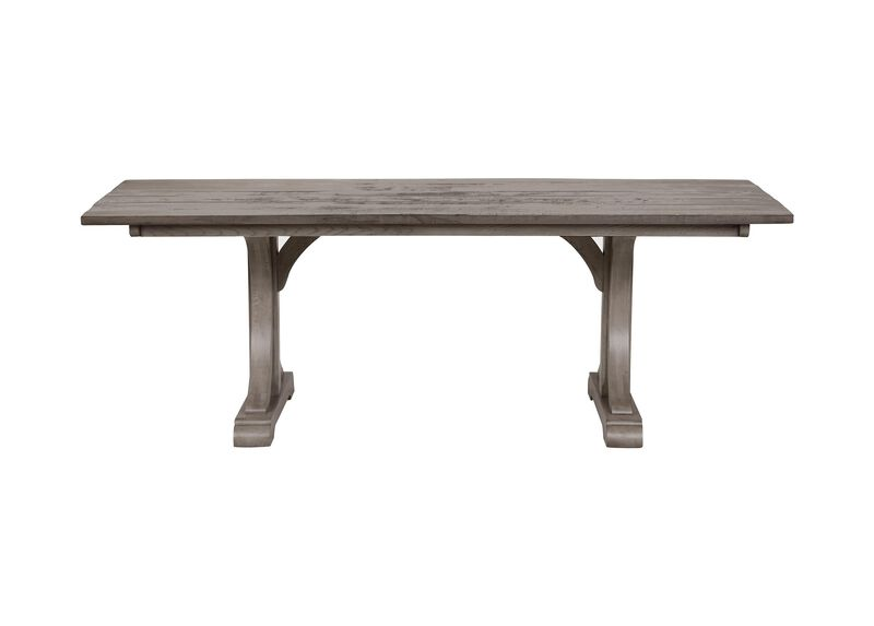 Corin Rough-Sawn Trestle Dining Table