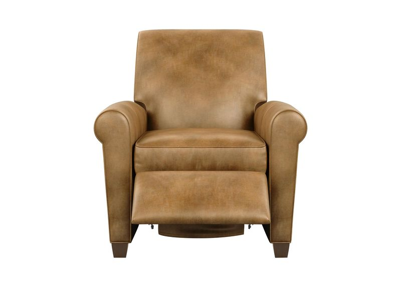 Bentley Leather Recliner ,  , large_gray