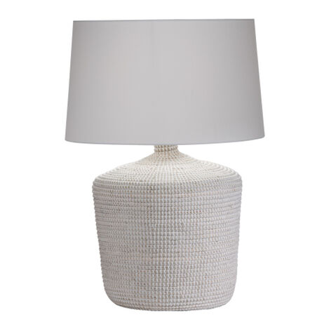 Seneca Woven Table Lamp ,  , large