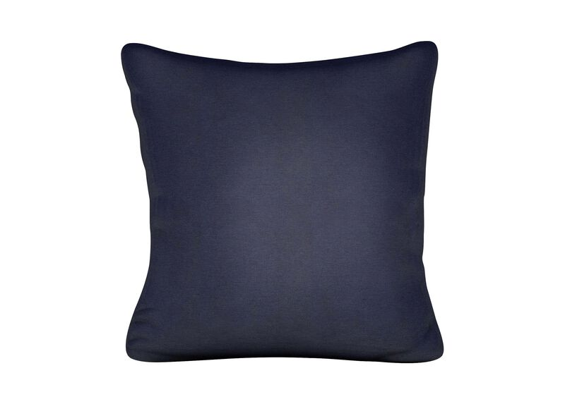 Kean Navy Outdoor Pillow