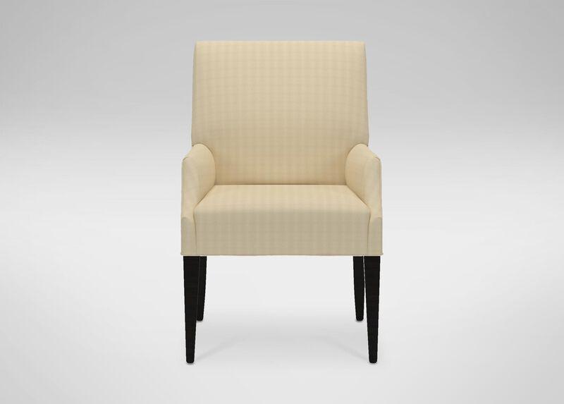 Clinton Arm Chair, Chance Cream at Ethan Allen in Ormond Beach, FL | Tuggl