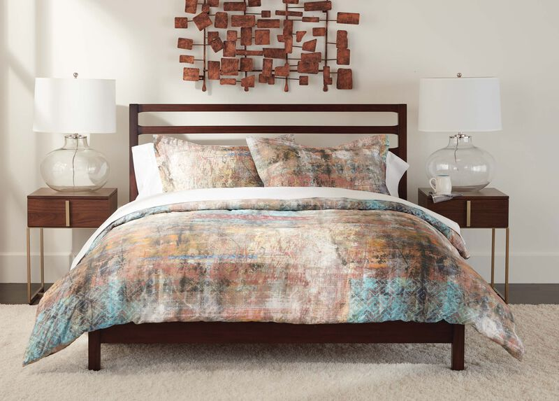 Domina Printed Duvet Cover and Shams