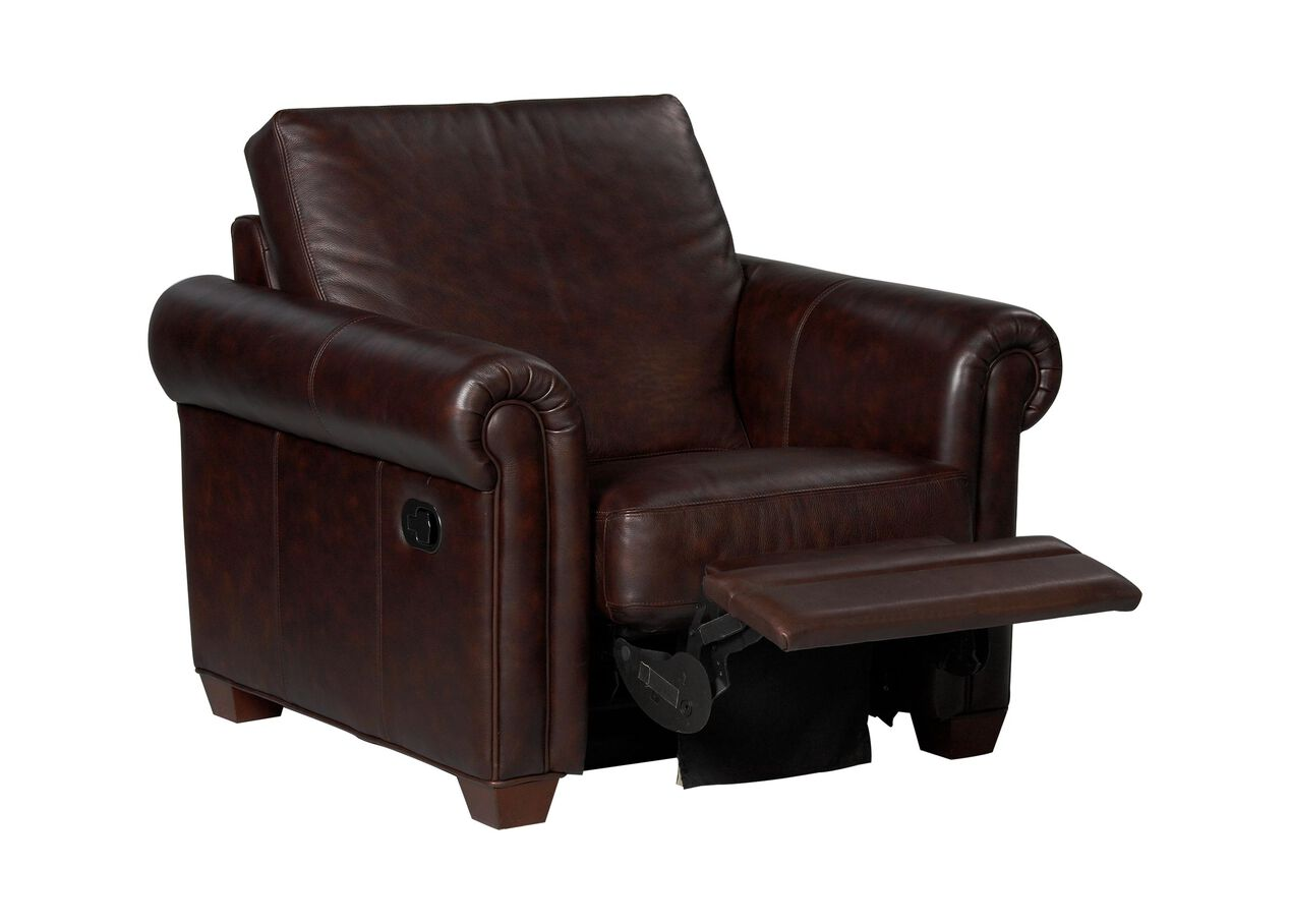 Conor Leather Recliner The Conor Collection Ethan Allen